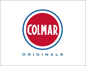 Knapp med colmar logo. Brukt som navigasjon til kategorien colmar i nettbutikken