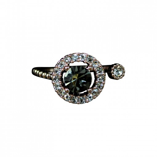Miranda ring black diamond