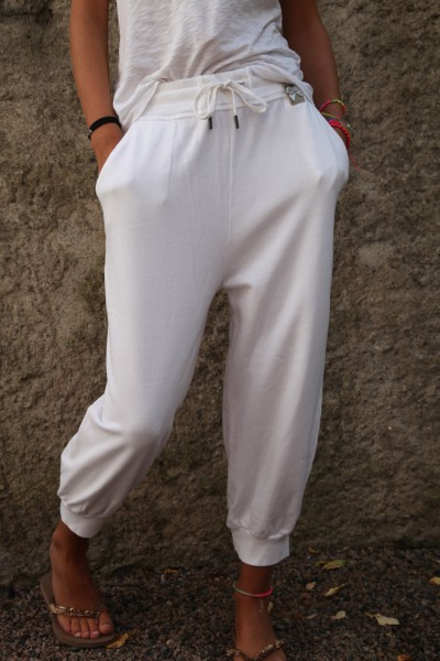 Cotton Capri white